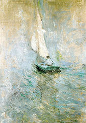Sailing in the Mist 1895 By John Henry Twachtman