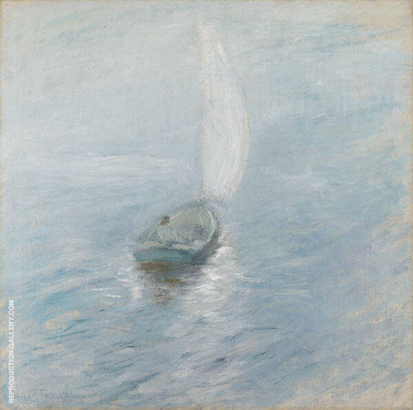Sailing in the Mist c1890 By John Henry Twachtman