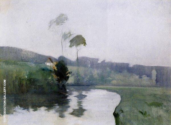 Springtime 1884 By John Henry Twachtman