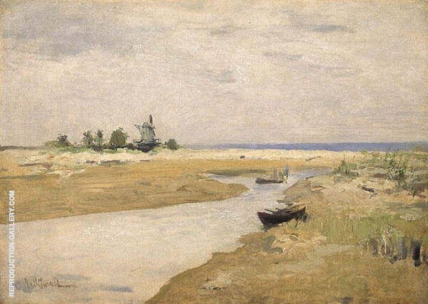 The Inlet 1881 By John Henry Twachtman