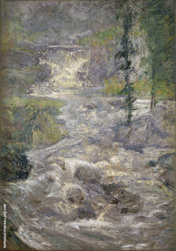 The Rainbow Source c1900 By John Henry Twachtman
