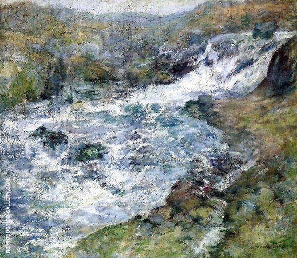 The Torrent 1900 By John Henry Twachtman