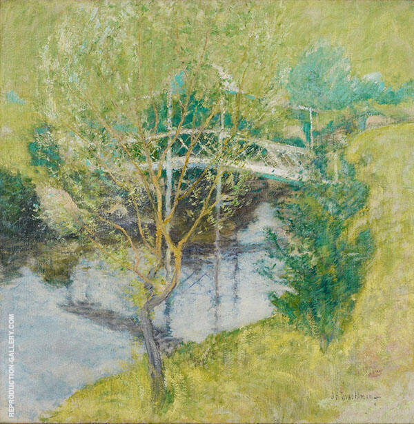 The White Bridge 1890 By John Henry Twachtman