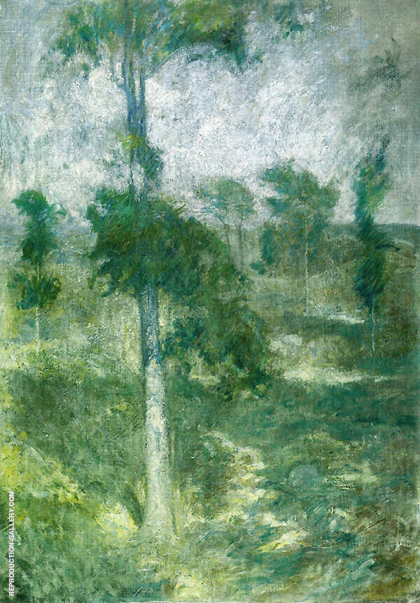 Tulip Tree Greenwich By John Henry Twachtman
