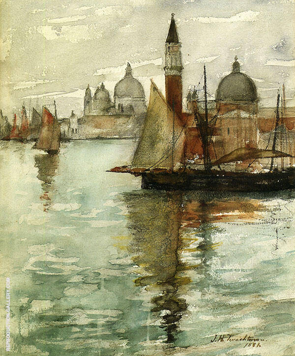 Venice 1881 Painting By John Henry Twachtman - Reproduction Gallery