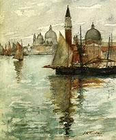 Venice 1881 By John Henry Twachtman