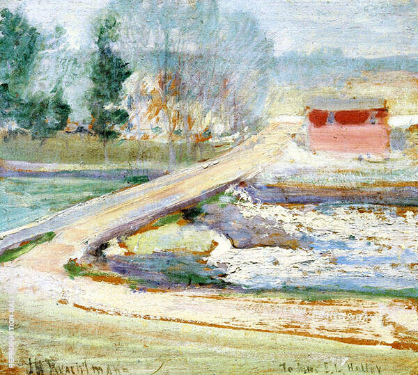 View from the Holley House 1901 2 By John Henry Twachtman