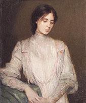 A Gentlewoman 1906 By J. Alden Weir
