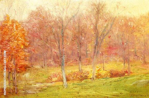 Autumn Rain 1890 By J. Alden Weir