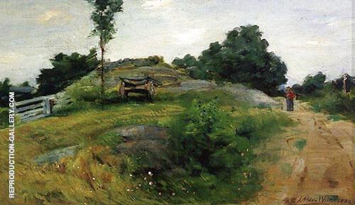 Connecticut Scene 1888 By J. Alden Weir