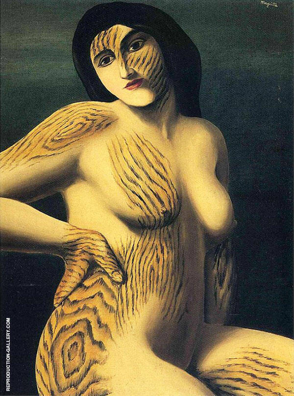 Discovery 1928 By Rene Magritte