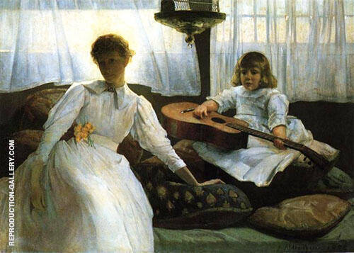 Idle Hours 1888 By J. Alden Weir