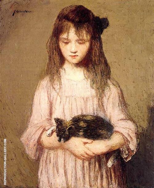Little Lizie Lynch c1910 By J. Alden Weir