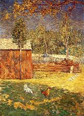 Midday 1891 By J. Alden Weir