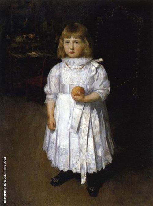 Portrait of Cara 1887 By J. Alden Weir