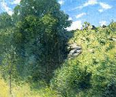 Ravine Near Branchville 1915 By J. Alden Weir