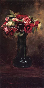 Still Life with Flowers By J. Alden Weir
