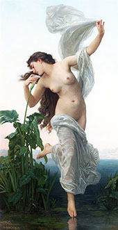 Dawn By William-Adolphe Bouguereau