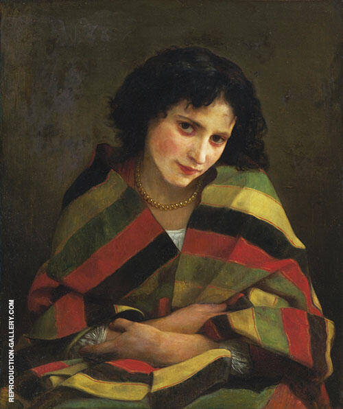 Frileuse By William-Adolphe Bouguereau
