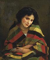 Frileuse By William-Adolphe Bouguereau