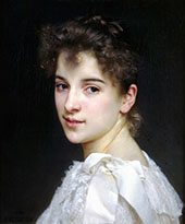Gabrielle Cot Sotheby's By William-Adolphe Bouguereau