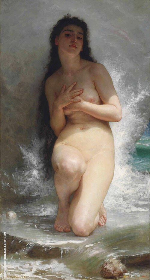 La Perle By William-Adolphe Bouguereau