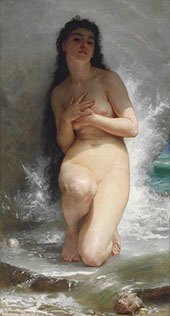 La Perle By William-Adolphe Bouguereau