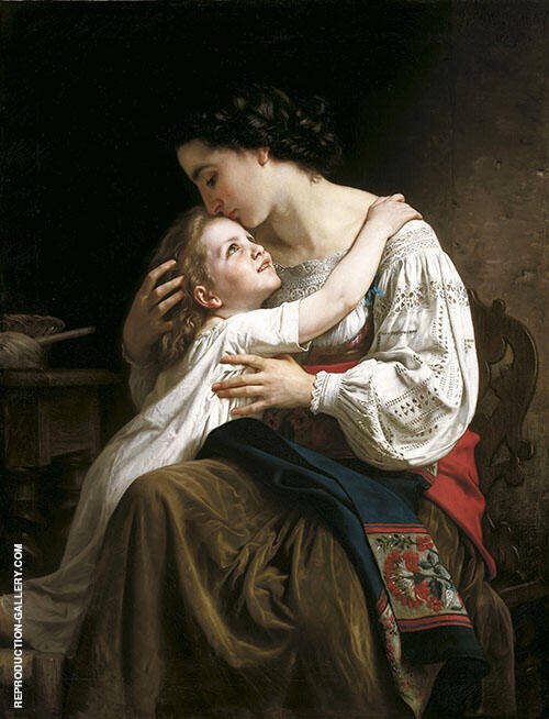 Le Lever By William-Adolphe Bouguereau