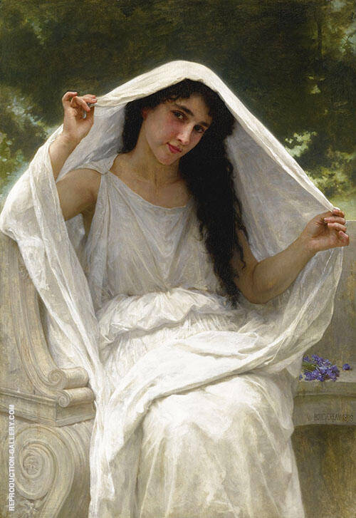 Le Voile 1898 By William-Adolphe Bouguereau