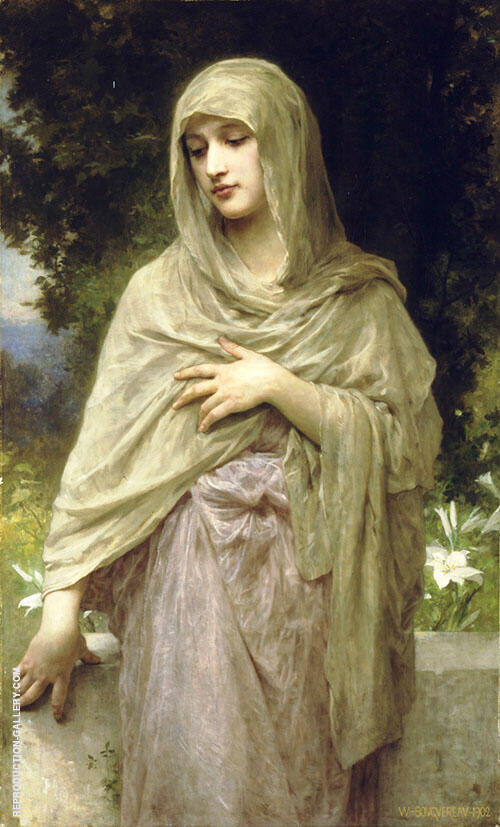 Modesty 1902 By William-Adolphe Bouguereau