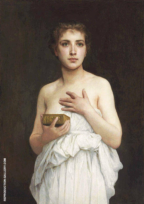 Pandora By William-Adolphe Bouguereau