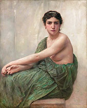 Reflection By William-Adolphe Bouguereau
