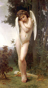 Wet Cupid By William-Adolphe Bouguereau