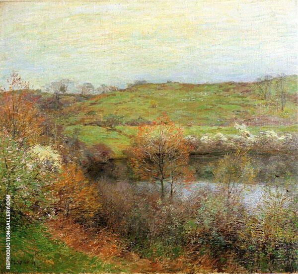 Buds and Blossoms 1907 By Willard Leroy Metcalfe