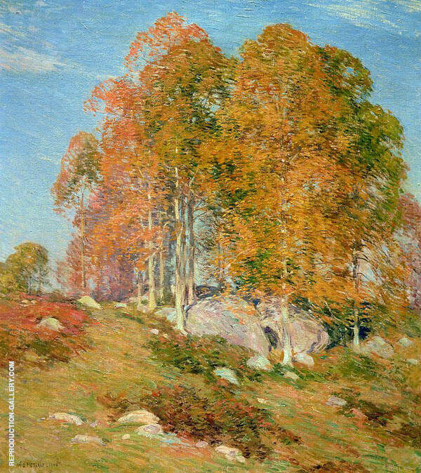 Early October 1906 By Willard Leroy Metcalfe