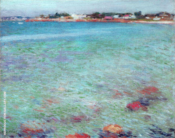 Ebb Tide 1895 By Willard Leroy Metcalfe