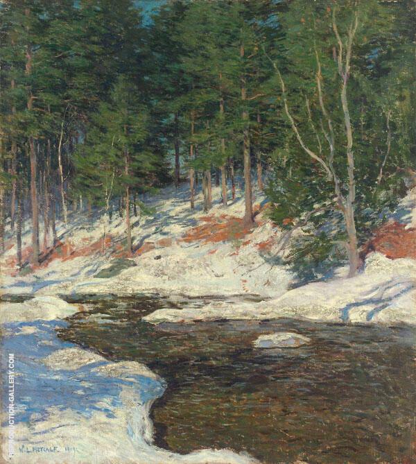 Icebound 1909 By Willard Leroy Metcalfe