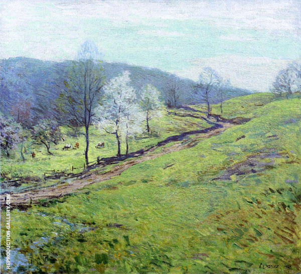 May Afternoon 1920 By Willard Leroy Metcalfe