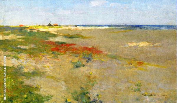 On the Suffolk Coast 1885 By Willard Leroy Metcalfe