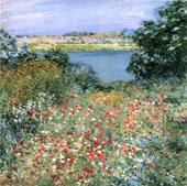The Poppy Garden 1905 By Willard Leroy Metcalfe