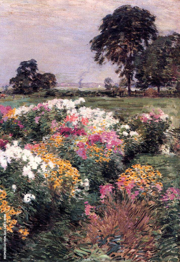 Purple, White and Gold 1903 By Willard Leroy Metcalfe