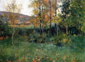Sping Landscape, Giverny, 1887 By Willard Leroy Metcalfe