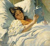 The Convalescent 1904 By Willard Leroy Metcalfe