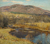 The North Country 1923 By Willard Leroy Metcalfe