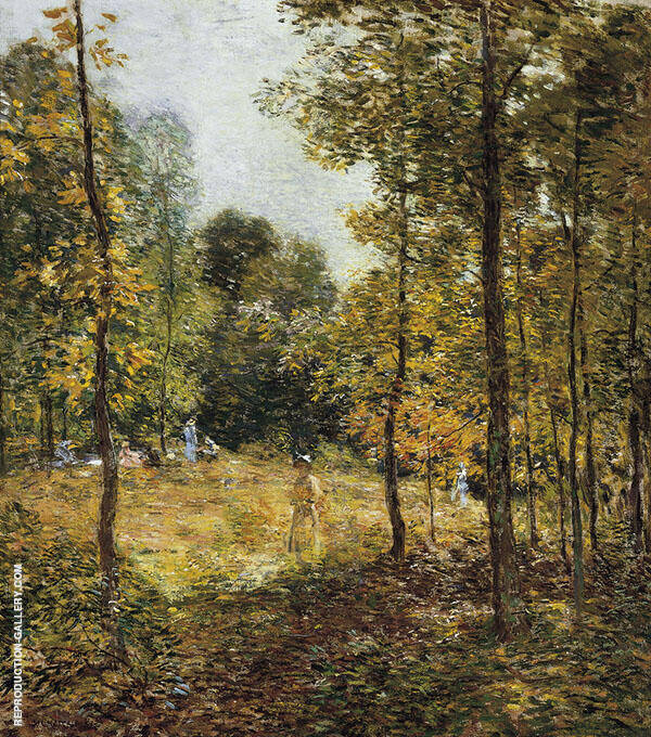 The Picnic 1907 By Willard Leroy Metcalfe