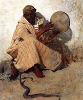 The Snake Charmer 1887 By Willard Leroy Metcalfe