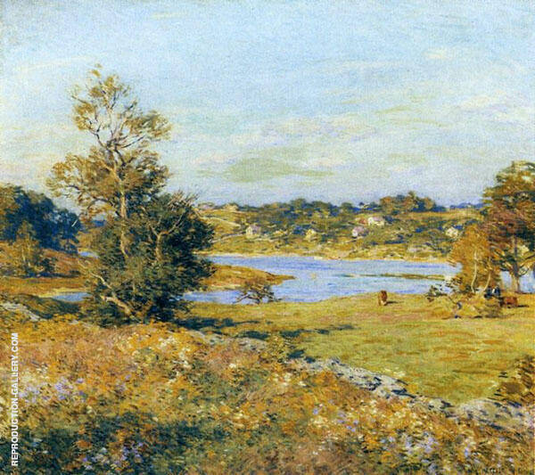 The Breath of Autumn 1915 By Willard Leroy Metcalfe