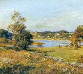 The Breath of Autumn 1915 By Willard Leroy Metcalfe