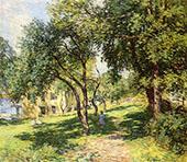 The Path 1915 By Willard Leroy Metcalfe