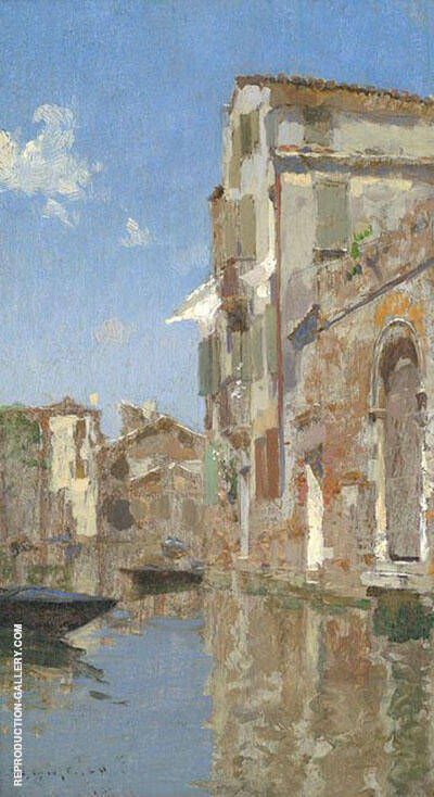 Venice 1887 By Willard Leroy Metcalfe
